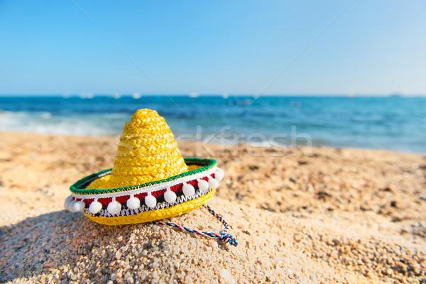 Spanish beach Stock photo © ivonnewierink
