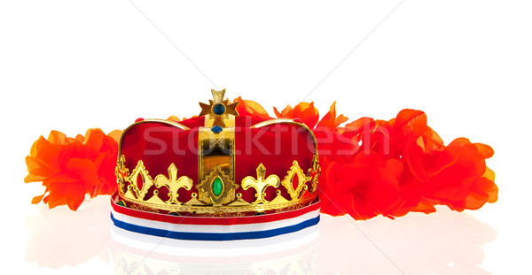 Dutch golden crown for the king Stock photo © ivonnewierink