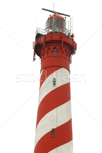 isolated classic lighthouse Stock photo © ivonnewierink