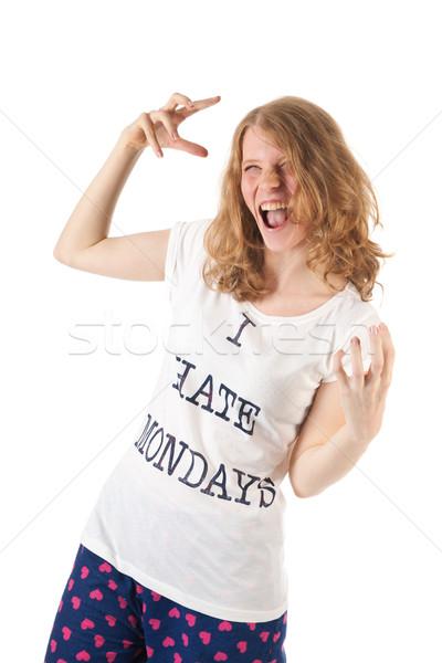 Hate mondays Stock photo © ivonnewierink