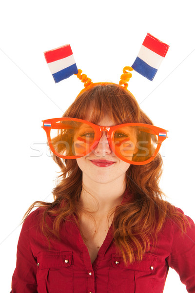 Dutch soccer fan Stock photo © ivonnewierink