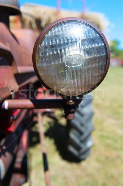Detail old tractor Stock photo © ivonnewierink