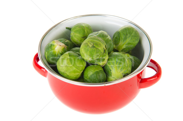 Bruselas rojo pan alimentos naturaleza planta Foto stock © ivonnewierink