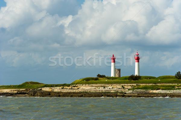 Island Ill de Ré in France Stock photo © ivonnewierink