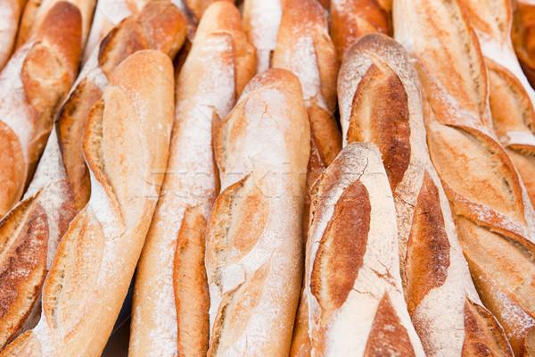 французский багеты многие свежие Франция Сток-фото © ivonnewierink