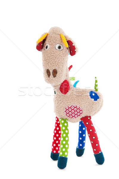 Stuffed animal giraffe Stock photo © ivonnewierink