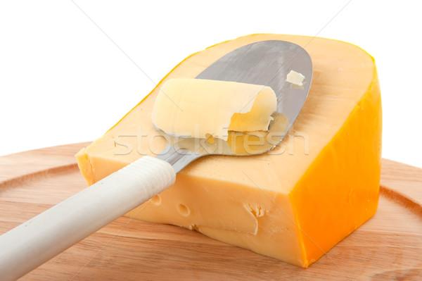 Dutch cheese slicer Stock photo © ivonnewierink
