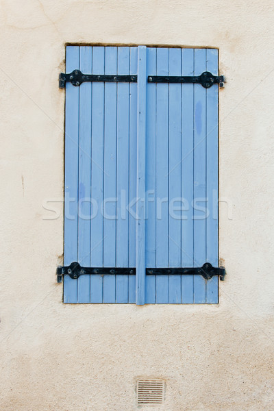 Lavender colored blue blinds Stock photo © ivonnewierink