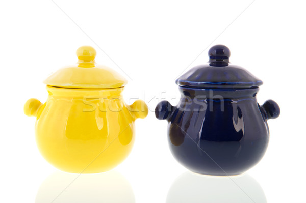 Foto stock: Piedra · cocina · azul · amarillo · fondo