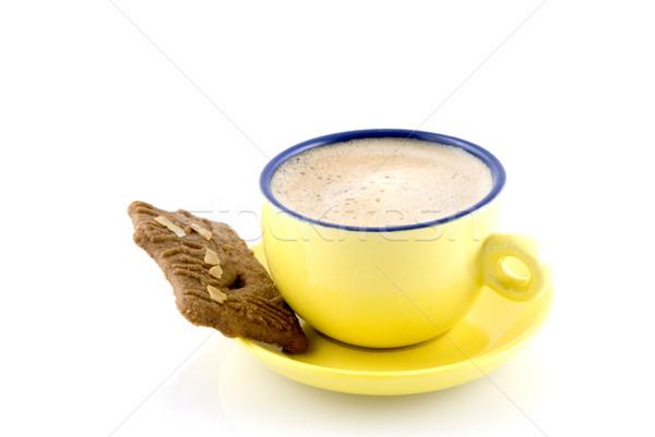 coffee with Dutch cookie Stock photo © ivonnewierink