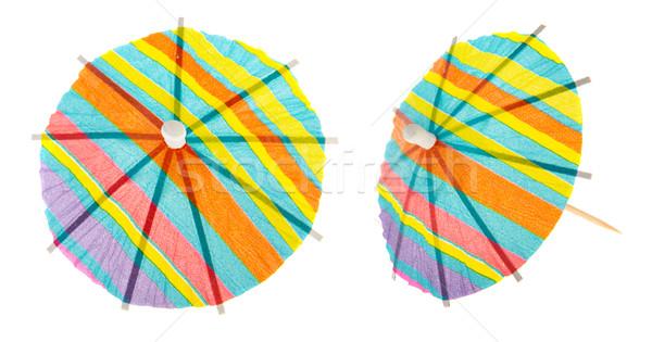 Paper parasols Stock photo © ivonnewierink