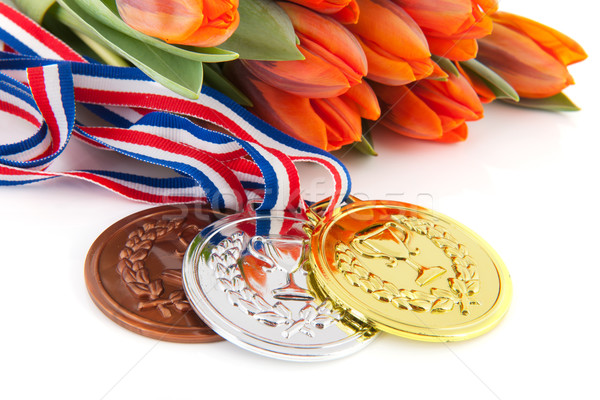 Winning the Dutch team Stock photo © ivonnewierink