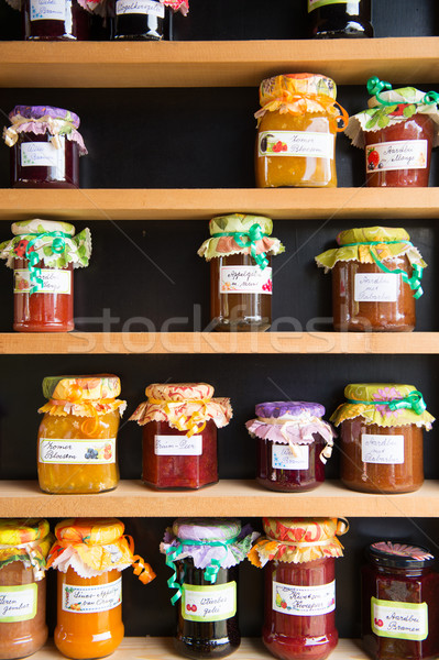 Different tastes home made jam Stock photo © ivonnewierink