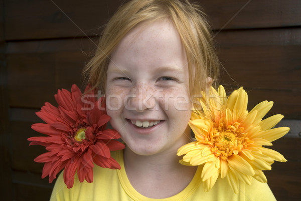 Stock photo: summer girl