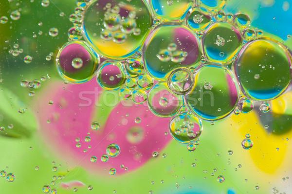 Stockfoto: Kleurrijk · water · textuur · abstract · achtergrond · olie