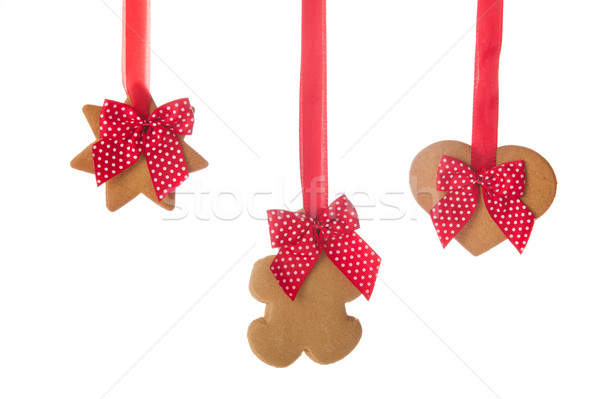 Christmas ginger bread cookies Stock photo © ivonnewierink