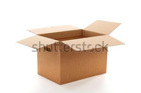 Carton box Stock photo © ivonnewierink