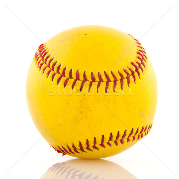 Yellow baseball Stock photo © ivonnewierink