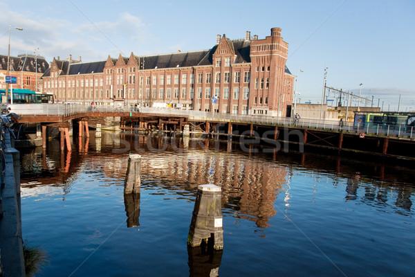 Amsterdam central station Stock photo © ivonnewierink