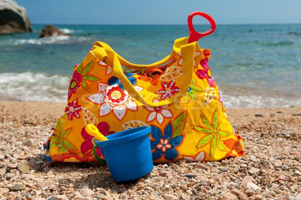 Beach bag Stock photo © ivonnewierink