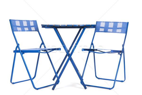 Garden furniture Stock photo © ivonnewierink