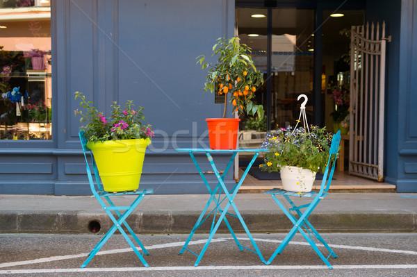 Flower shop Stock photo © ivonnewierink