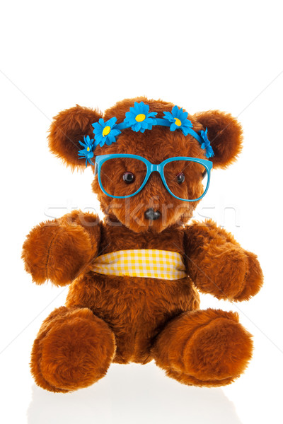 Funny stuffed bear Stock photo © ivonnewierink