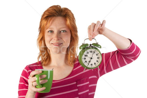 Stock photo: Happy wake up