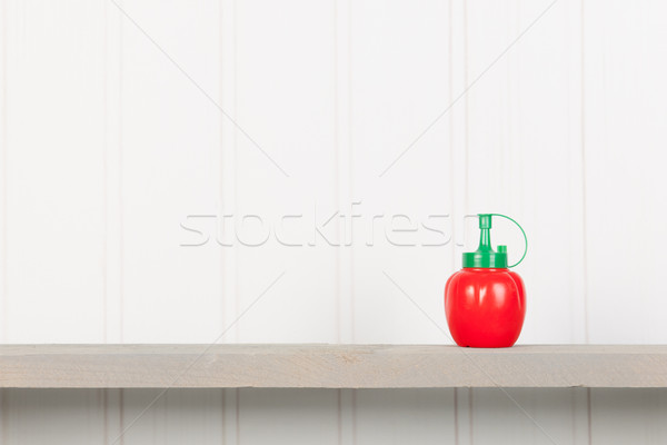Pomodoro ketchup bottiglia bar alimentare Foto d'archivio © ivonnewierink