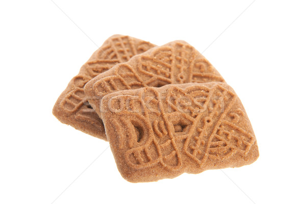 Tipico cookies cookie isolato bianco Foto d'archivio © ivonnewierink