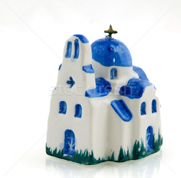 Griego ortodoxo iglesia miniatura Foto stock © ivonnewierink