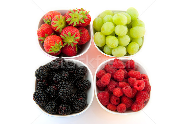 Fresh fruit Stock photo © ivonnewierink