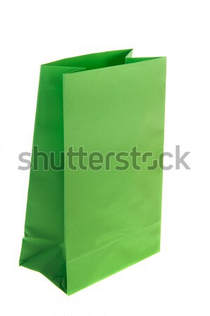 Verde vuota isolato bianco carta Foto d'archivio © ivonnewierink
