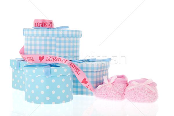 Newborn baby Stock photo © ivonnewierink