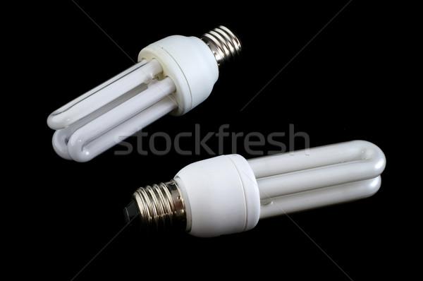 Takarékosság energia különleges villanykörték fény Stock fotó © ivonnewierink