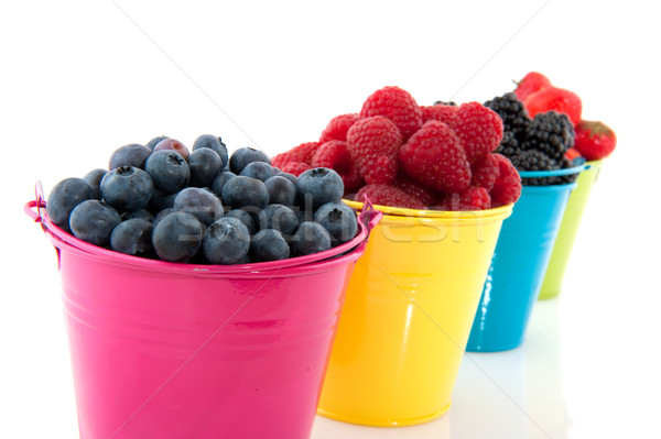Diversity fresh fruit Stock photo © ivonnewierink
