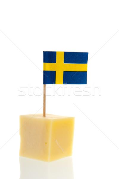 Swedish cheese Stock photo © ivonnewierink