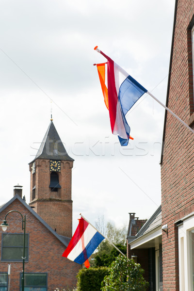 Kings day in Holland Stock photo © ivonnewierink