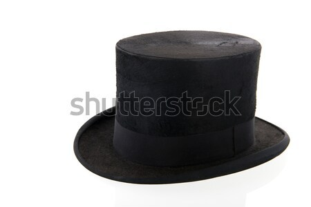 Black top hat Stock photo © ivonnewierink