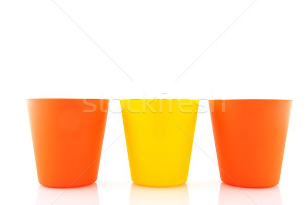 flower pots Stock photo © ivonnewierink