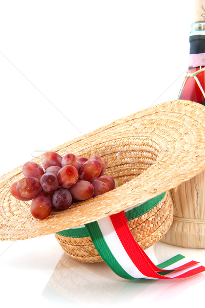 Grapes from Italy Stock photo © ivonnewierink