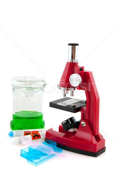 testing in the laboratory Stock photo © ivonnewierink