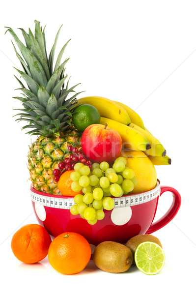 Big cup various fruit Stock photo © ivonnewierink