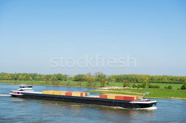 Сток-фото: большой · голландский · пейзаж · груза · транспорт