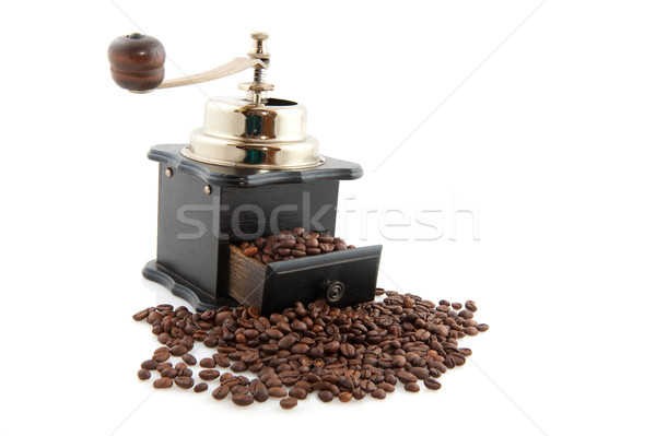 Old fashioned coffee grinder Stock photo © ivonnewierink