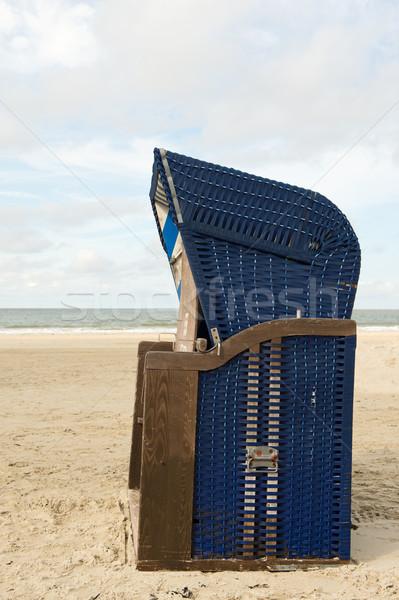 Borkum beach Stock photo © ivonnewierink