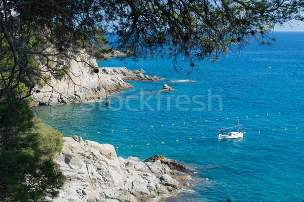 Landscape west coast Costa Brava Stock photo © ivonnewierink