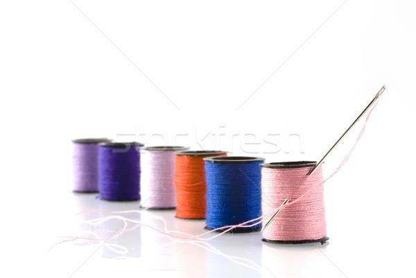sewing Stock photo © ivonnewierink