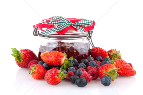 Home made jam Stock photo © ivonnewierink