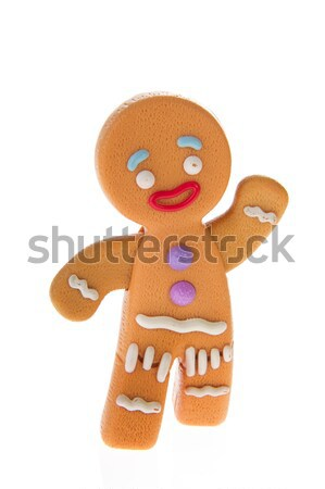 Ginger bread man Stock photo © ivonnewierink